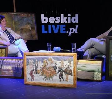 Gość Beskidlive - Halina Worecka, malarka [WIDEO]